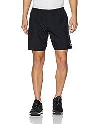 Reebok Mens Synthetic Shorts (4058031045244_CD5351_L_BLACK)