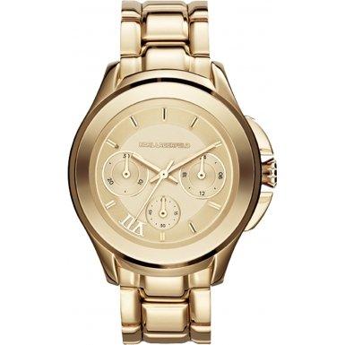 Karl Lagerfeld Damen-Armbanduhr Analog Quarz Edelstahl KL2404