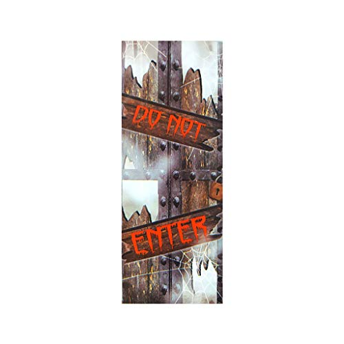 Kreativ Teen Kostüm - Heetey Halloween Dekoration Außenhandel Neue Halloween kreative lustige Tür Aufkleber Glas Fenster Aufkleber Wandtattoo Wohnkultur Fensterfolie Glasaufkleber Wand Wohnzimmer Halloween Wohnkultur