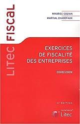 Exercices de fiscalité des entreprises (ancienne édition)