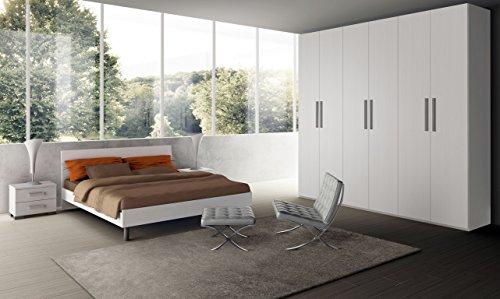 Klipick camera da letto, matrimoniale, completa, adelina.