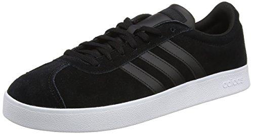 adidas Herren VL Court 2.0 Gymnastikschuhe, Schwarz (Core Black/Core Black/FTWR White Core Black/Core Black/FTWR White), 42 EU