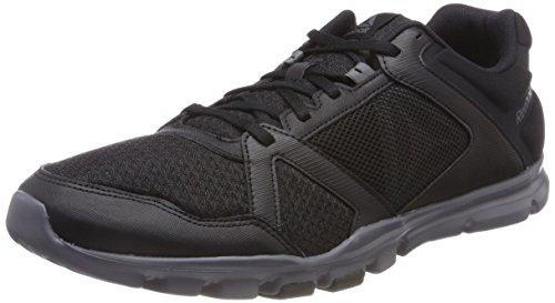 Reebok Yourflex Train 10 MT, Zapatillas de Deporte para Hombre, Negro (Black/Alloy 000), 45.5 EU