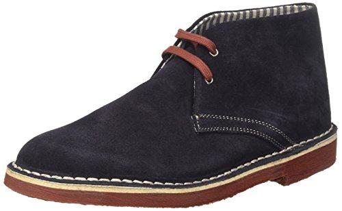 Lumberjack Gable, chaussures à lacets homme Blu (Navy Blue/Brick)