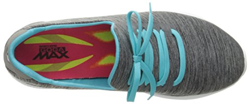 Skechers Damen Go Walk 4-A.d.c Sneaker Grau (gybl)