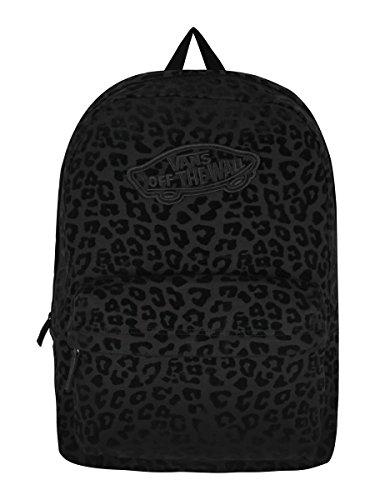 Vans Damen Rucksack G Realm Backpack Leopard Black/black