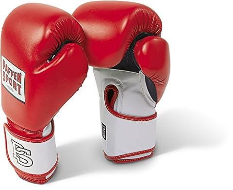 Paffen Sport Gants de boxe pour l'entraînement FIT; rouge/blanc; 16 oz
