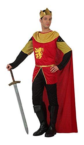 Atosa 10138 - Costume per Travestimento da Re Medioevale, Uomo, M/L