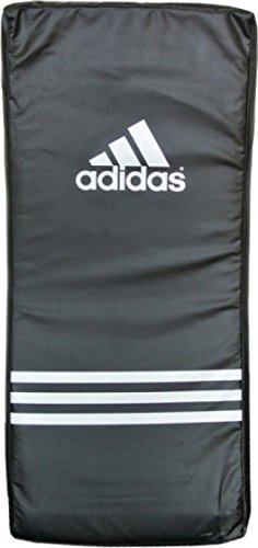 adidas PRO Kicking Shield Curved Pads, schwarz, 75 x 35 x 15 cm -