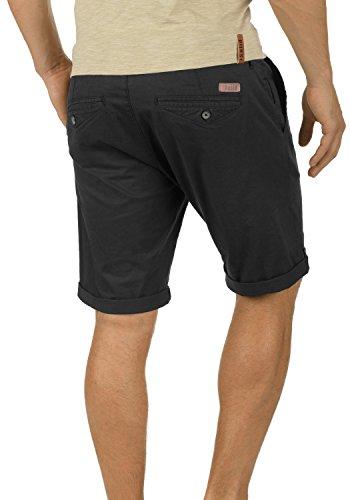 SOLID Montijo Herren Chino-Shorts kurze Hose Business-Shorts mit Gürtel aus hochwertiger Baumwollmischung Black (9000)