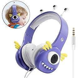 VCOM Auriculares infantiles Mounstro - Varios diseños/colores