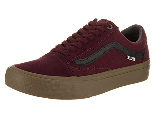 Herren Skateschuh Vans Old Skool Pro Skate Shoes Port Black Gum