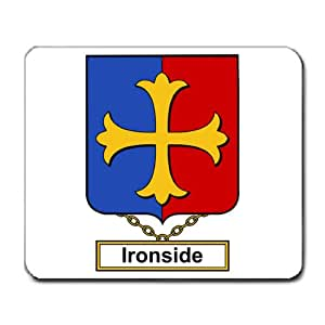 Ironside Family Crest Coat of Arms Mouse Pad