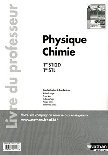 Physique chimie - 1res STI2D-STL