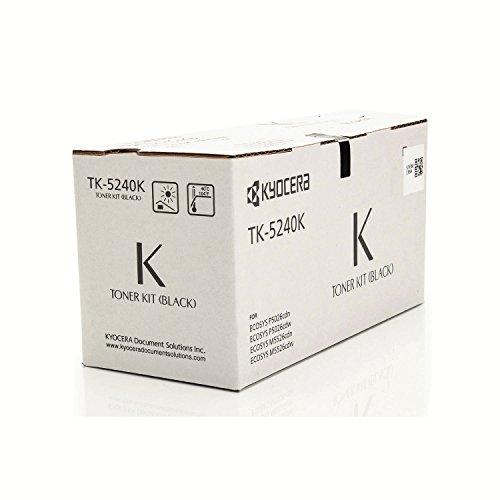 Preisvergleich Produktbild Original Toner passend für Kyocera ECOSYS M 5526 cdw Kyocera TK5240K 02R70NL0 , 1T02R70NL0 , 2R70NL0 - Premium Drucker-Kartusche - Schwarz - 4.000 Seiten
