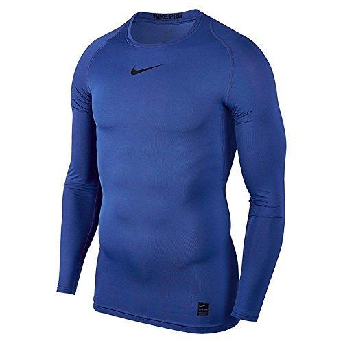 Nike Herren Pro Compression Langarm Oberteil, Blau (Game Royal/Black), XL Preisvergleich