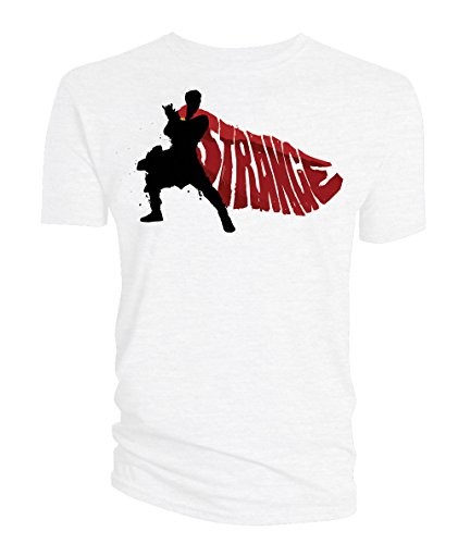 Doctor Strange T-Shirt Cape Vector white Size L Titan Merchandise shirts