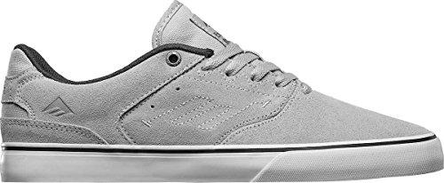 Emerica Il Reynolds Low Vulc, Herren Skateboardschuhe Light Grey / Black