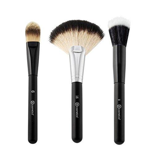 Blending Face Trio - 3-teiliges Pinselset (Make-up-trio)