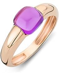 Miore Damen-Ring 9 Karat (375) Rosegold Amethyst 1.5 ct Größe 58 MNA9007R58