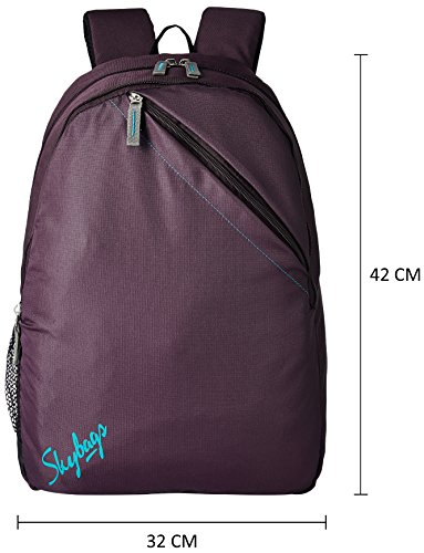 Skybags Brat 18 Ltrs Purple Casual Backpack (BPBRA6PPL) Image 2