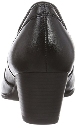 Caprice 24420, Chaussons femme Noir - Schwarz (BLACK NAPPA 022)