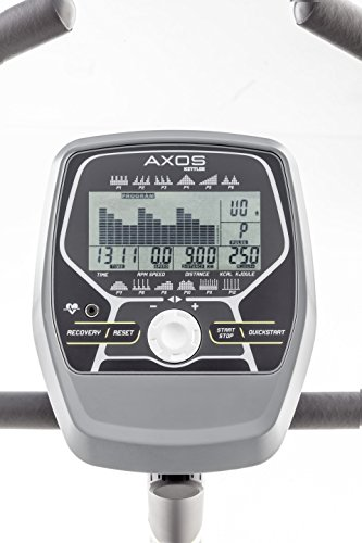 Kettler Heimtrainer Fahrrad AXOS Cycle P – Farbe: Grau – das ideale Hometrainer Fahrrad – Artikelnummer: 07628-900 - 2