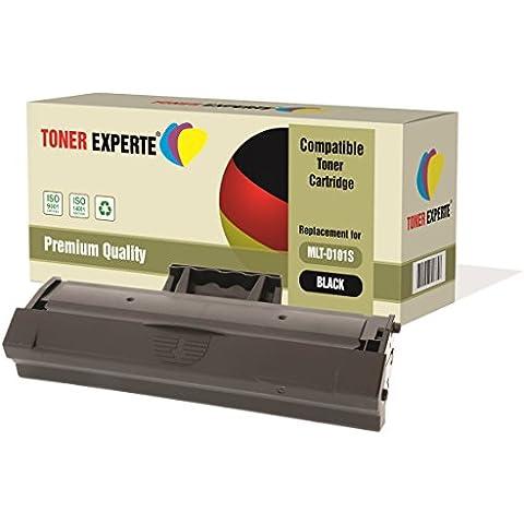 Pack de 2 TONER EXPERTE® Compatibles MLT-D101S Cartuchos de Tóner Láser para Samsung ML-2160 ML-2165W ML-2168 SCX-3400 SCX-3400FW SCX-3400F SCX-3405 SCX-3405FW SCX-3405W SCX-3405F SF-760 SF-760P ML-2161 ML-2162 ML-2164W ML-2165