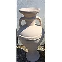 Koll Living Design Pegasus Pot 40 cm – Blanc ou Fluorescent – Idéal pour votre jardin, terrasse ou Blanc balcon – Brille dans l'Obscurité 53be25
