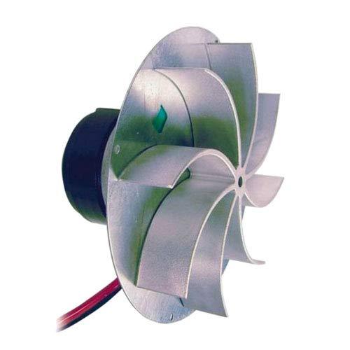 Easyricambi Estrattore aspiratore fumi FANDIS VFC3A23 Motore ECOFIT 2RECA3 Stufa a Pellet Ventola da 25mm Rotazione oraria con Encoder