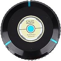 TOPmountain Sweeping Clean Robot Robot Aspirador para Piso Duro y Alfombra Fina Negro