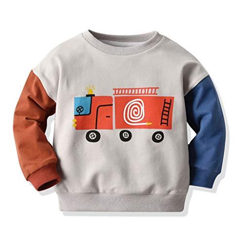 Lookhy Boys Jacke,Jungen Sweatshirt Cartoon Print Patchwork Shirt Tops T-Shirt Kleidung Dragons Kinder Kapuzenpullover/Hoodie Ohnezahn Toothless, Schwarz -