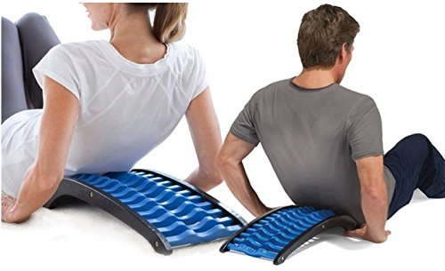 [RÜCKENSTRECKER] - Back stretcher - Rückentrainer gegen Verspannungen im Rücken und Schulterbereich - Rückendehner Orthopädischer Rückenstretcher Natürliche Behandlung für Rückenschmerzen - DisQounts