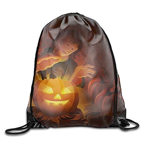 Setyserytu Sporttasche mit Kordelzug, Sportrucksack, Reiserucksack, Holiday Halloween Drawstring Drawstring Backpack for Adult Holiday Halloween10
