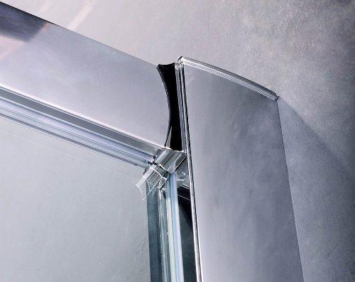 Bifold Shower Door for Recess W900mm