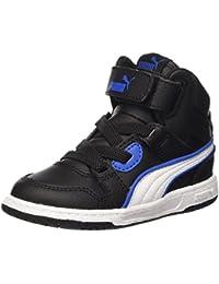 Puma Rebound Street L Inf Sneaker V, Color Negro/Blanco, 9