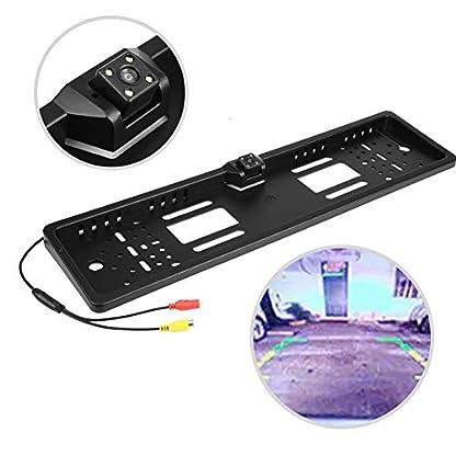 KIMISS-Nummernschild-mit-Kamera-Kfz-Kennzeichenhalter-mit-140–Full-HD-Rckfahrkamera-IP67-Wasserdicht-mit-Infrarot-IR-Untersttzung-Nachtsichtmodus