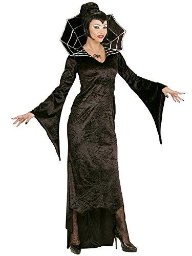 WIDMANN Kostüm Karneval Damen Kostüm Halloween vapira Spiderella * 21812, Mehrfarbig XL