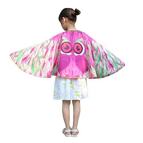 MRULIC Kinder Dance Fairy Bauchtanz Schmetterling Flügel Isis -