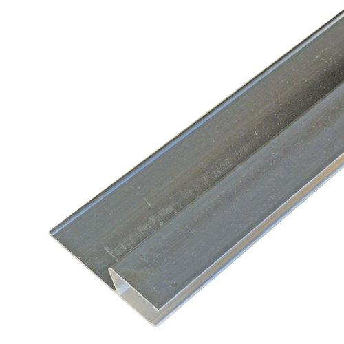 h-Profil Alu-Kartätsche 150cm Kardätsche Abziehlatte Richtlatte Abzieher Putz Putzabzieher