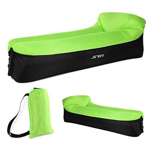 JSVER wasserdichtes aufblasbares Sofa, Luft Sofa,Luftmatratzen,Luft Couch, mit integriertem...