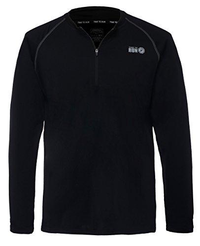 t-shirt-de-course-thermique-leger-a-col-rond-avec-fermeture-eclair-pour-homme-time-to-run-xl-noir