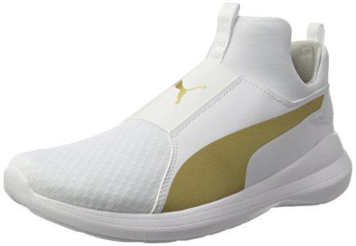 Puma 364539-10 Sneakers Femme Blanc Blanc - Chaussures Baskets basses Femme