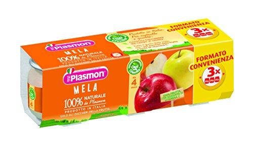 Plasmon Omogeneizzato di Frutta, Mela - 24 Vasetti usato  Spedito ovunque in Italia
