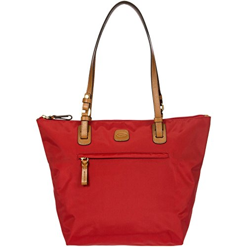 Brics X-Bag Shopping Medium Sportina Schultertasche 27 cm Rot