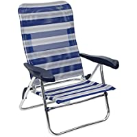 Crespo AL/205-M-17 - Silla Playa Dural. Desmontable. (Multifibra), Color Azul