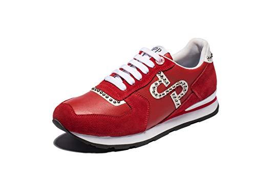 085af907d4 OPP Hommes Chaussures De Sport en Plein Air Sneakers (42 EU, Rouge)