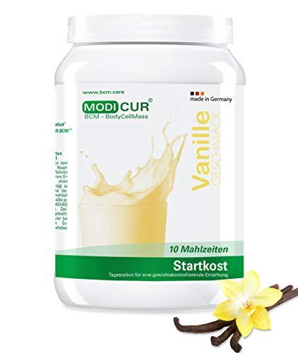 BCM Modicur Start Vanille 1 Dose à 460g (10 Portionen/Diätstart/BCM BodyCellMass) -