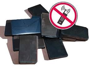 Shungite Plaquette pour Téléphone Portable