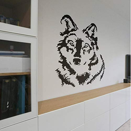 Wolf Wandtattoos für Magic Minds Mystical Collection Suchen Wolf Big Bad Wolf Wandaufkleber Dekoration 42X58 CM